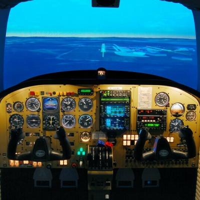 Flugsimulator Piper PA 44 Seminole FNPT II