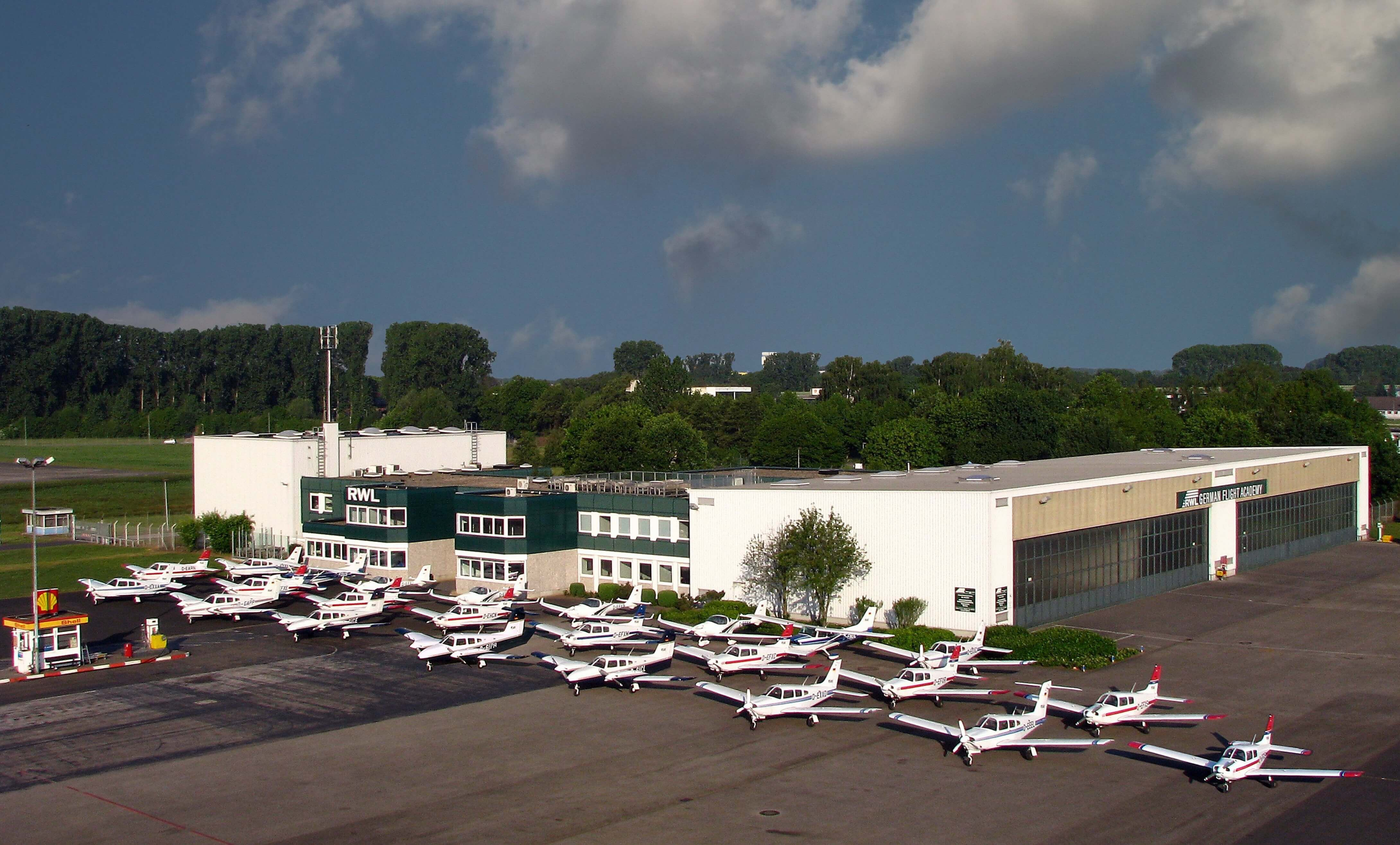 RWL Flugschule Mönchengladbach - Flugzeugflotte