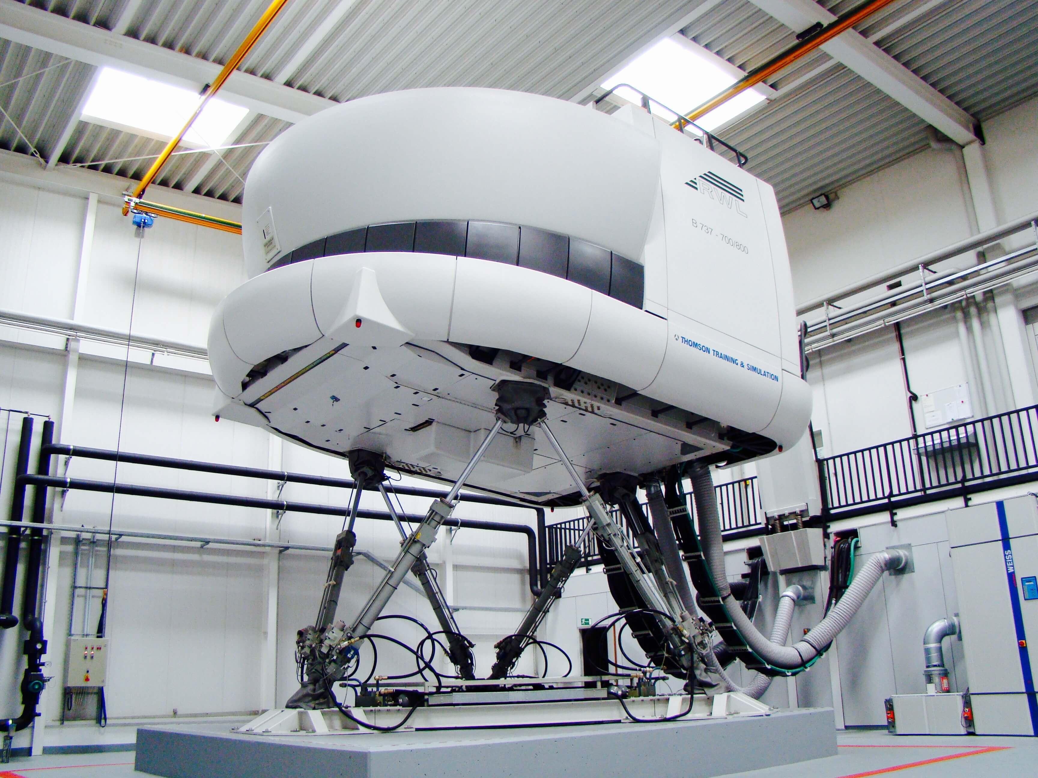 737 Simulator - Flugsimulator bei der RWL